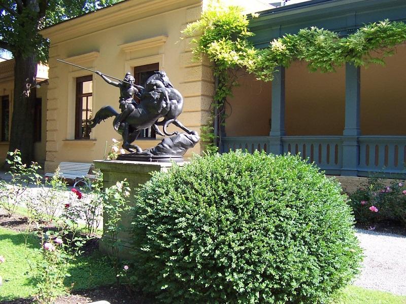 Bild aus der Fugger-Silbermann-Villa, Augsburg